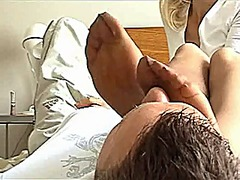 Xhamster Movie:Very nice smeel nylon feet