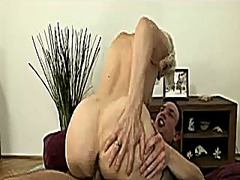 Xhamster Movie:Grey haired granny gets creampie