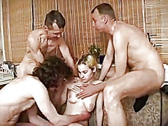 russian group-sex