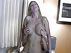 mature, milf, strapon