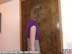 Xhamster - Milf dp'd by husband and teen with strapon