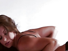 Vporn Movie:Solo Amber Sym gets horny in h...