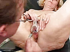 kinky, mom, close, lady, speculum