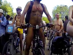 Nudists on public bikes - 07:26