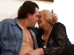 Granny Stally gets fucked hard and li...