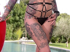 erotic, masturbation, fetish, outdoors,