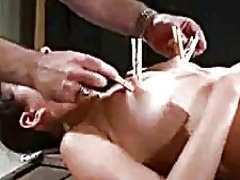 AlotPorn Movie:Asian slave spanked by her master