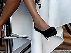 Voyeur Hit Movie:candid high heels