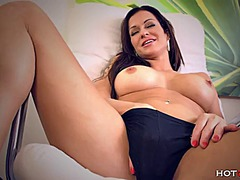 PornerBros - Brunette milf stacy si...