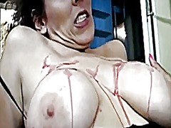 Xhamster Movie:Spanking and hot wax