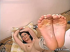 Tube8 Movie:Jesica double sole creamed
