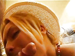 Private Home Clips Movie:Hawt blonde in straw hat fuck ...