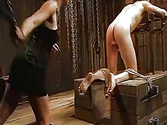 Yobt Movie:Male fucking serf bound up and...