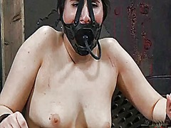 Ah-Me Movie:Gagged and tied up angel gets ...