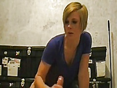 Private Home Clips Movie:Dilettante handjob