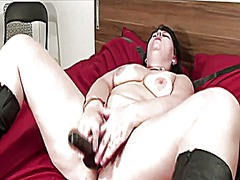 orgasm, finger, mature, dutch