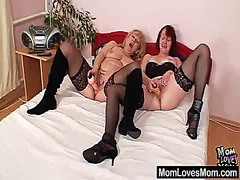 Amateur mom experimenting in addition to o...