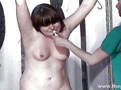 Teen bdsm of chubby am... video