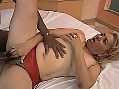 Xhamster Movie:Hairy granny enjoying a young bbc