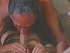 Vintage bisex - 2 guys, one girl