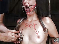 Ah-Me Movie:Caged beauty gets a whipping f...