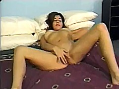 tits, small tits, latin, brunette, small
