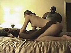 Private Home Clips Movie:Blond In A Hotel Room