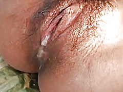 mature, creampie, japanese