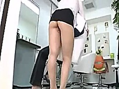 Big hairdresser milf to temptation in...