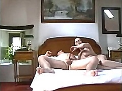 wifey straddles my dong and eats cream after