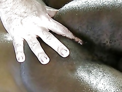 Interracial anal fingering... - 06:01