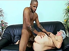 interracial, granny, mature, black