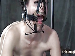 Ah-Me Movie:Caged up babes are forced to g...
