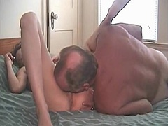 Aged married pair home... video