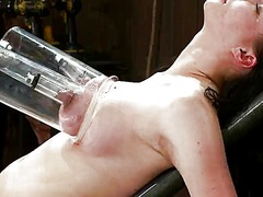 Bust torture and dildo... preview