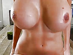 Blonde puma swede cant live a day without fingering her hole