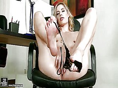 PinkRod Movie:Blonde marilyn cole cant live ...