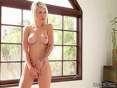 Superb blonde stevie s... - PornerBros