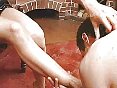 Xhamster Movie:Russian mistress footworship a...