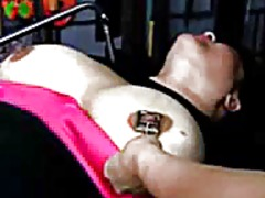 Bbw bound and pinched video