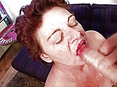 masturbation, facial, mature
