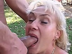 Blonde mom fuck a...