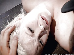 Xhamster Movie:Thin blonde submissive in devi...