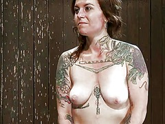 Dildoing tattooed vixe... preview