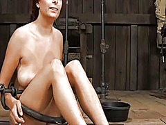 Ah-Me Movie:Gagged beauty gets violent whi...