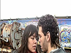 Voyeur Hit Movie:Junk Yard Mutual Masturbation