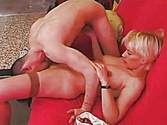 french golden-haired  ... video