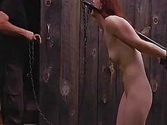 Restrained cutie made to s... - 05:07