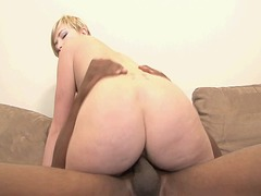 blonde, interracial, hairy, tits,