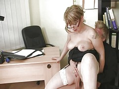 Mature fuck in office - Xhamster